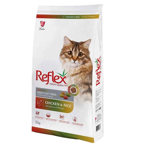 غذا خشک گربه رفلکس مولتی کالر