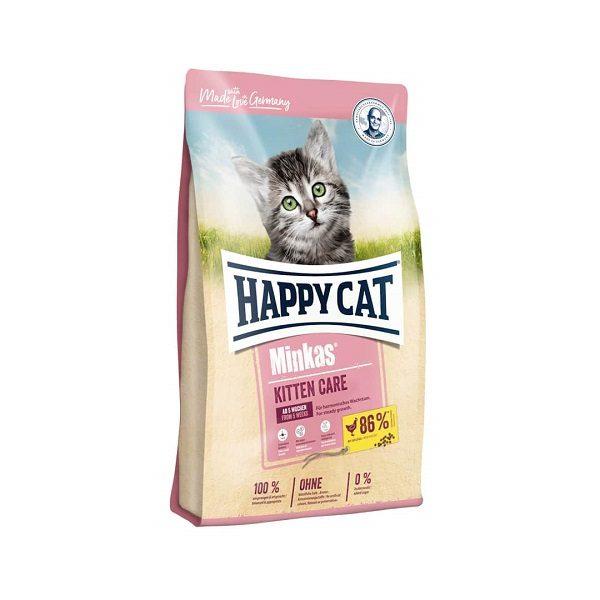 غذا خشک هپی کت kitten care