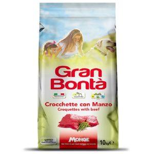 غذا خشک سگ Gran Bonta مدل Croquettes with Beef