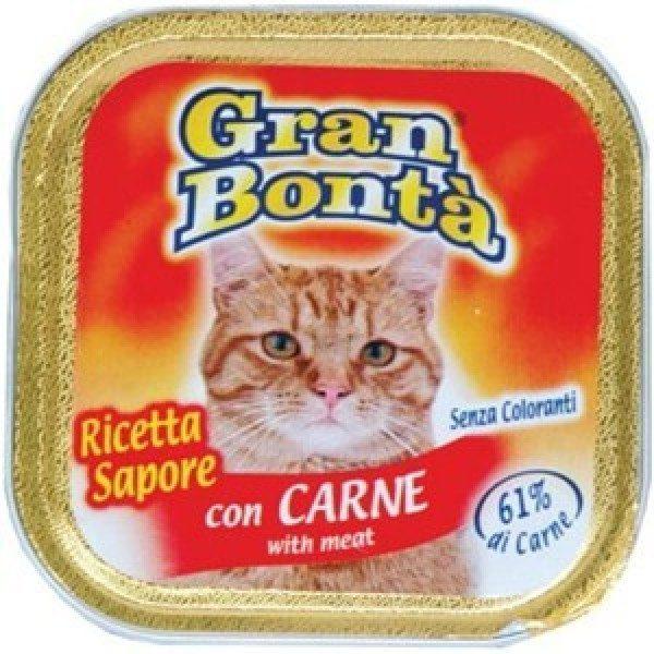 غذای پته گربه gran bonta حاوی گوشت
