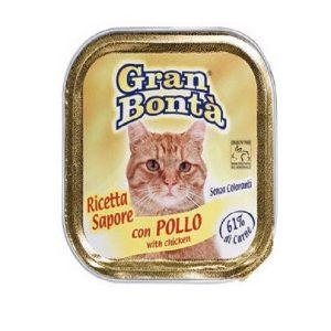 غذای پته گربه gran bonta مدل chiken