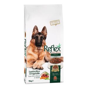 غذا خشک سگ رفلکس با طعم بره، برنج و سبزیجات