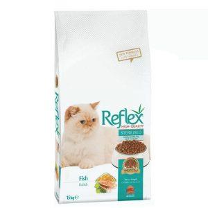 غذا خشک گربه رفلکس برای گربه های عقیم شده