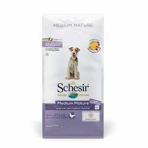 غذا خشک سگ متوسط شسیر مدل medium mature