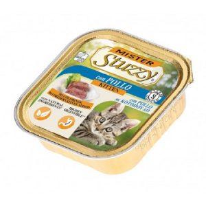 غذای کاسه ای استوزی با طعم مرغ برای بچه گربه